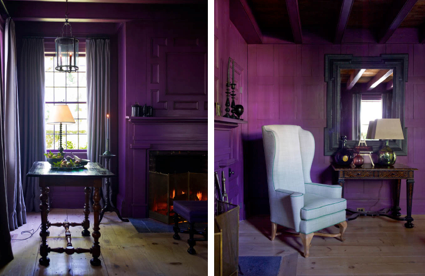 pick the perfect shade of purple with Casa V