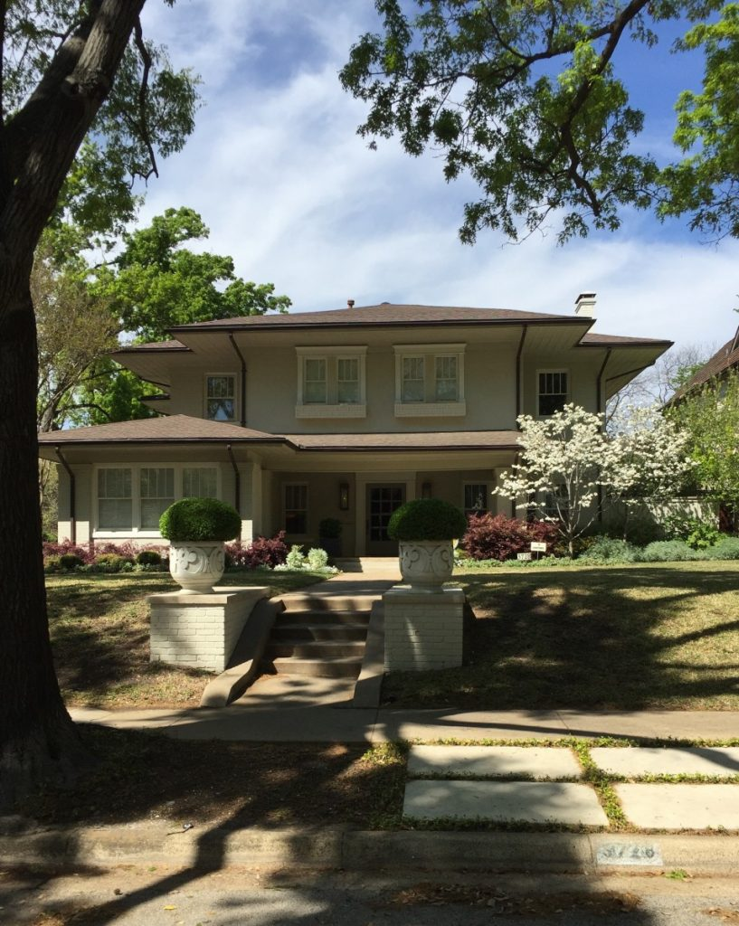 The house where my father lived during his teenage years, Highland Park.