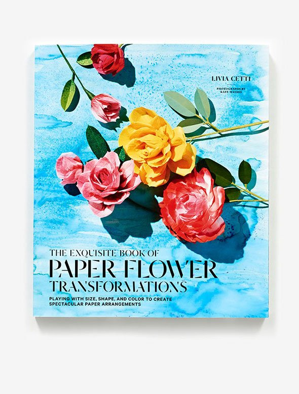 The Exquisite Book of Paper Flower 2 shows what to do with the above purchase. (Photo: The Green Vase)