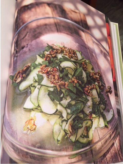 Malibu Farm's Raw Zucchini Salad. (Photo: Martin Löf)