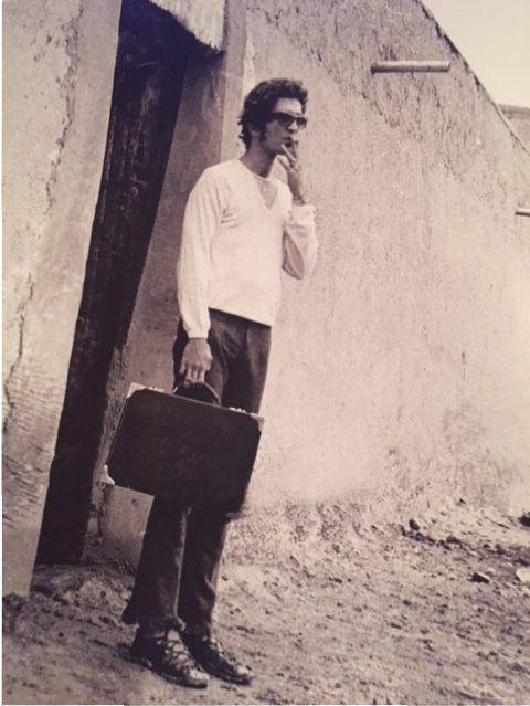 Bill Willis, Marrakesh, 1967. (Photo: Andee Nathanson)