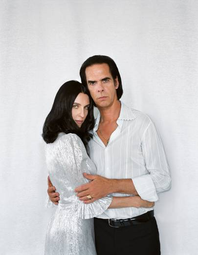 Susie and Nick Cave. (Photo: Polly Borland for Vogue UK)