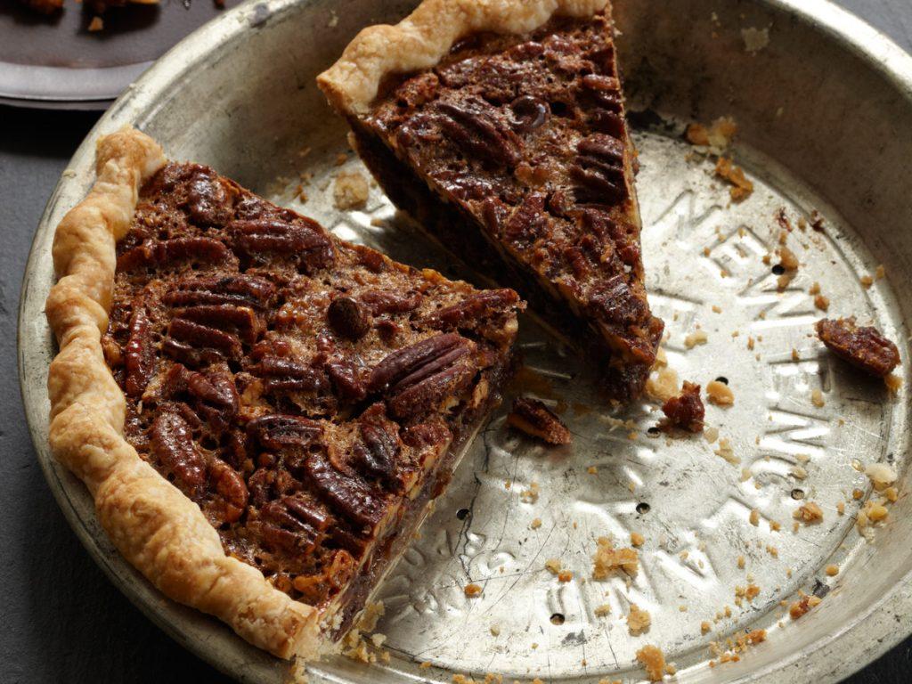 Chocolate pecan pie with bourbon. (Photo: Food and Wine Magazine.)