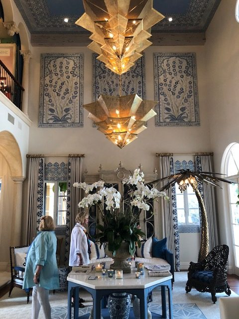Living room by Rinfret, Ltd. Design and Decoration.