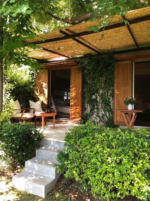 The garden suite.