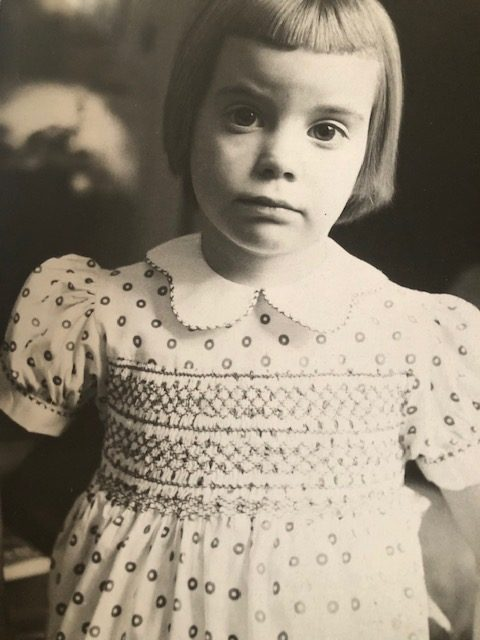 Tonne in 1955 pictured in her favorite dress. (Photo: Point of View)