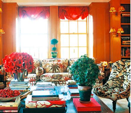 Tory Burch's Manhattan apartment. (Photo: Francois Halard)