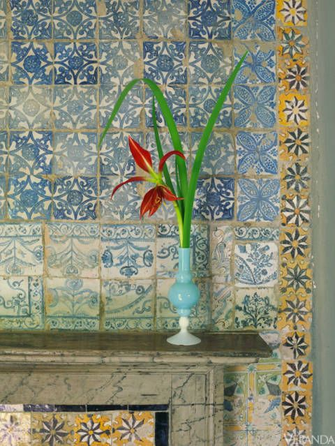 Umberto Pasti's Moroccan home. (Photo:
