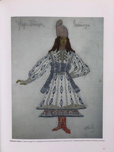 Aleksandr Golovin costume for L'Oiseau de feu. (Photo: St Petersburg State Museum of Theatre and Music)