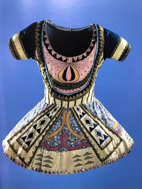 Costume for the Blue God in Le Dieu bleu by Léon Bakst. (Photo: National Gallery of Australia)