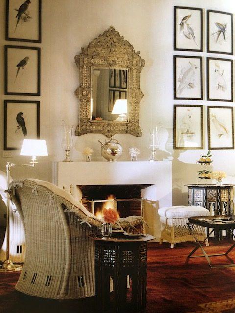The living room at Ain Kassimou. (Photo: Eric Boman)