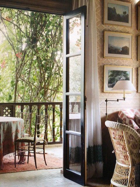 The sitting room of Ain Kassimou. (Photo: Eric Boman)