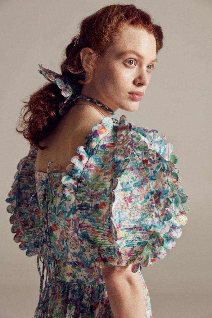 The Fanny cotton blouse. (Photo: Horror Vacui)