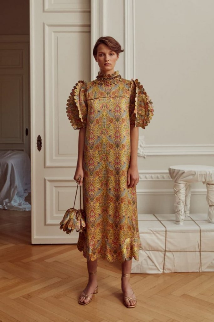 The Elinor silk dress. (Photo: Horror Vacui)