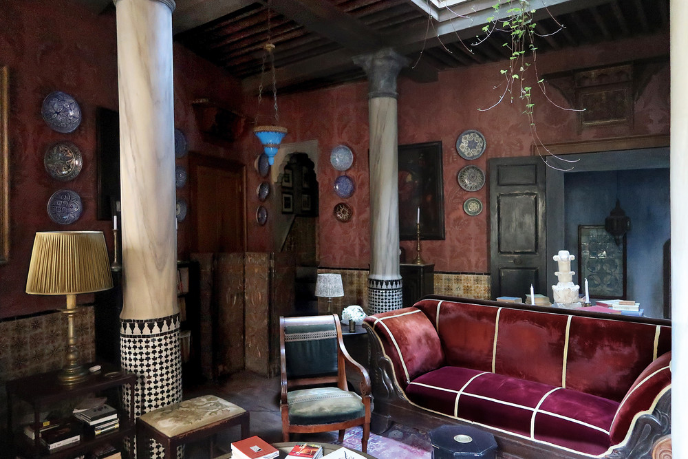 One of my favorite features in the book is the Tangier home of Roberto Peregalli. (Photo: Roberto Peregalli)