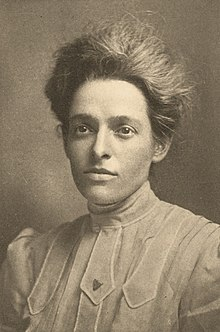 Ida Annah Ryan as pictured in her MIT yearbook, 1906.