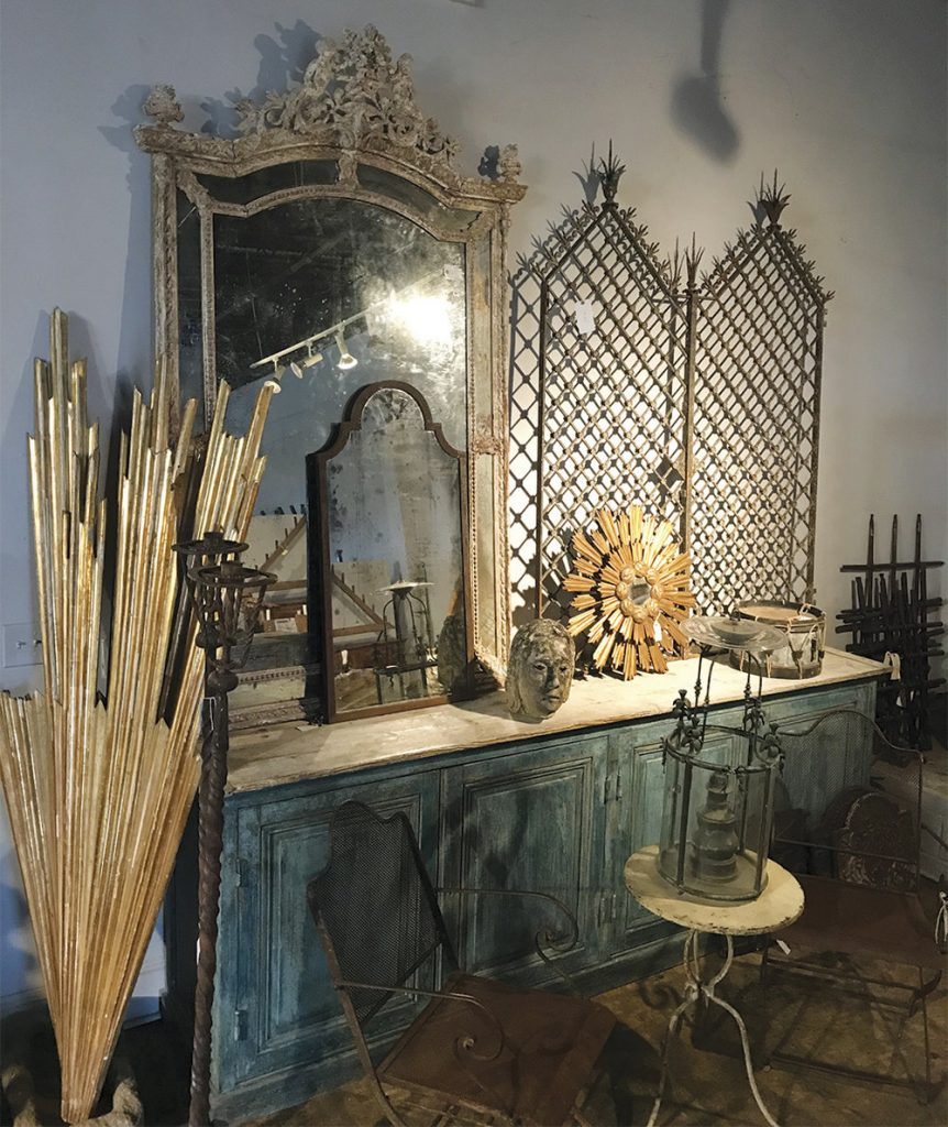 A small sample of Melissa's treasures at Provenance Antiques.