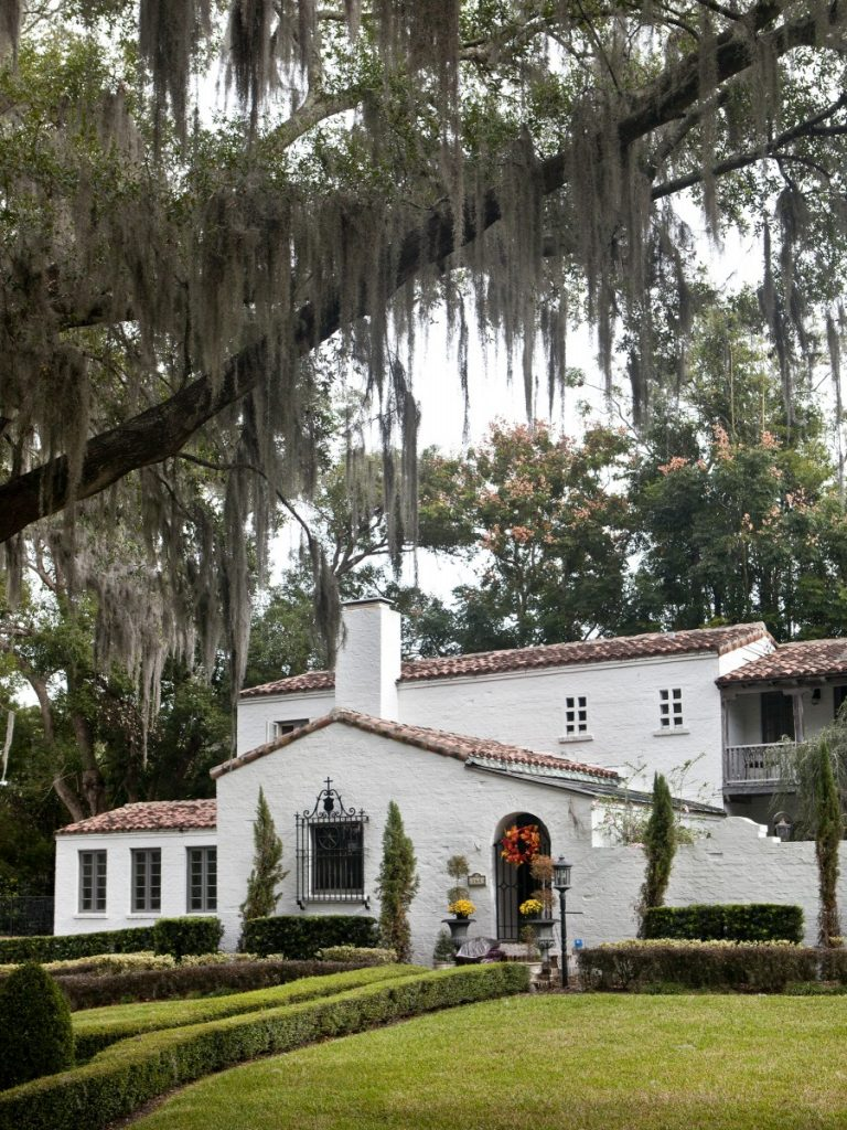 The McAllaster house also designed by Gamble Rogers.