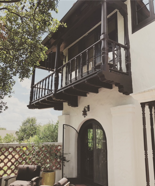 Cynthia Collins's incredible Spanish-style home.