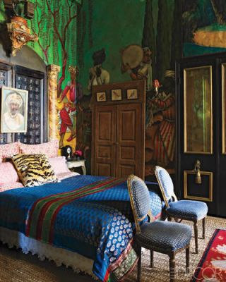 Gwynn's master bedroom take two. (Photo: William Waldron)