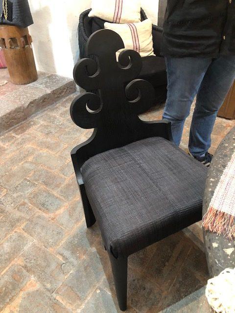 Scarabe chair by Laura Kirar. Seen at Mesón Hidalgo.